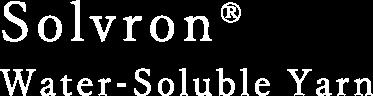 Solvron® Water-Soluble Yarn